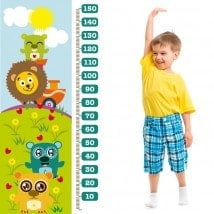 Zoo animal child gauge vinyl