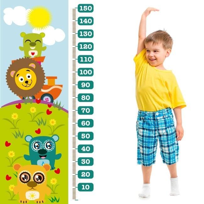 Zoo animal child gauge vinyl