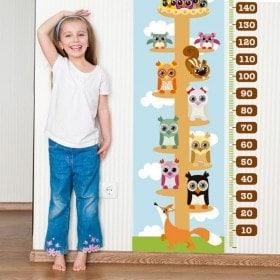 Children's vinyl animal meter
