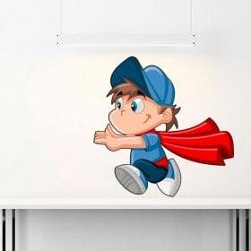 Superman child children's vinyl