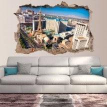 Vinyl wall 3D rotating Las Vegas