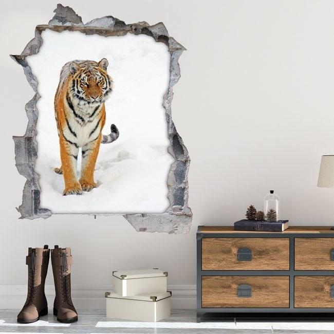 Vinyl 3D Siberian Tiger