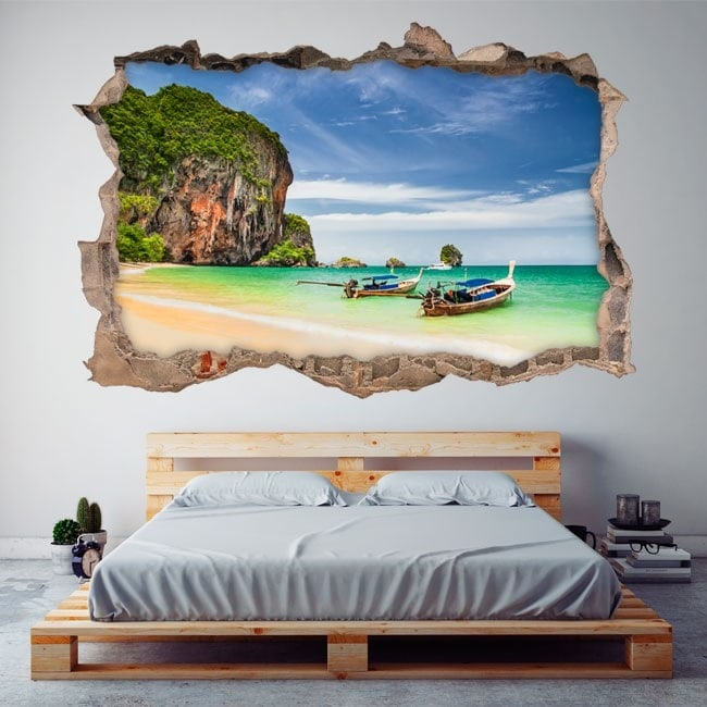 Vinyl 3D Beach Railay Thailand
