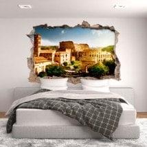 Vinyl 3D Colosseum Rome