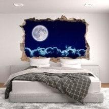 3D Moon vinyl
