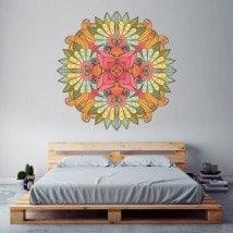 Mandala wall vinyl English 5709