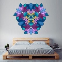 Mandala wall vinyl English 5710