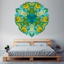 Mandalas of wall stickers