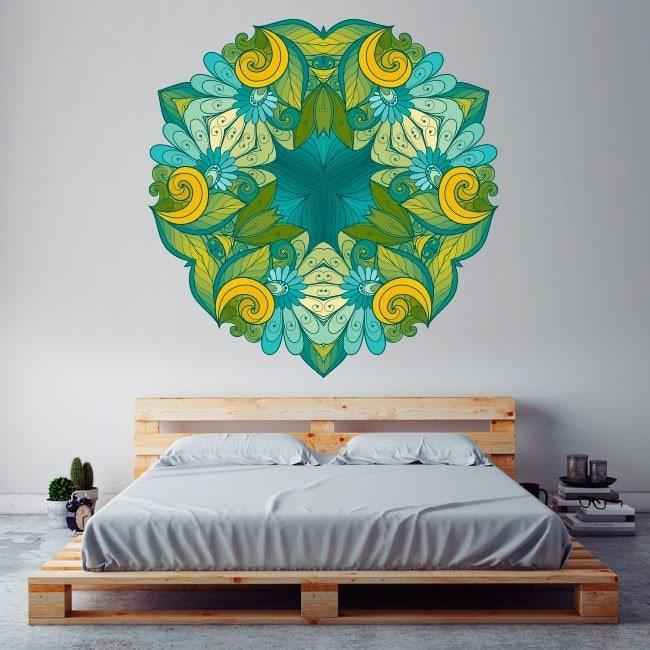 Mandalas of wall stickers