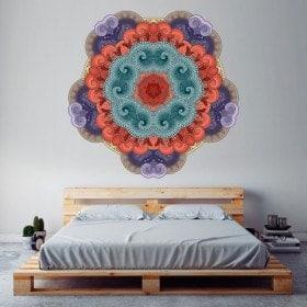 Vinyl wall Mandalas