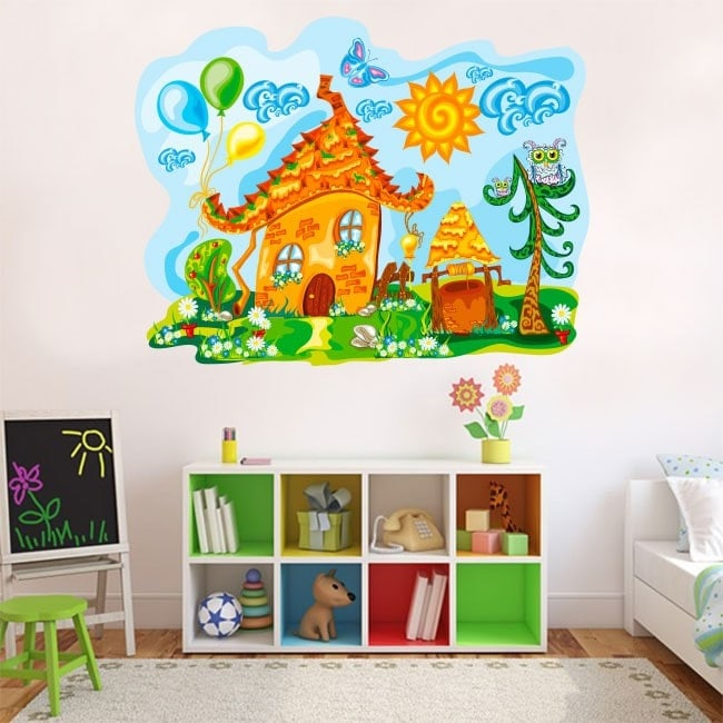 Vinyl children's nature House