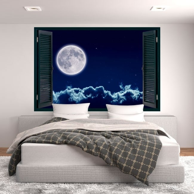 Windows in 3D full moon vinyl