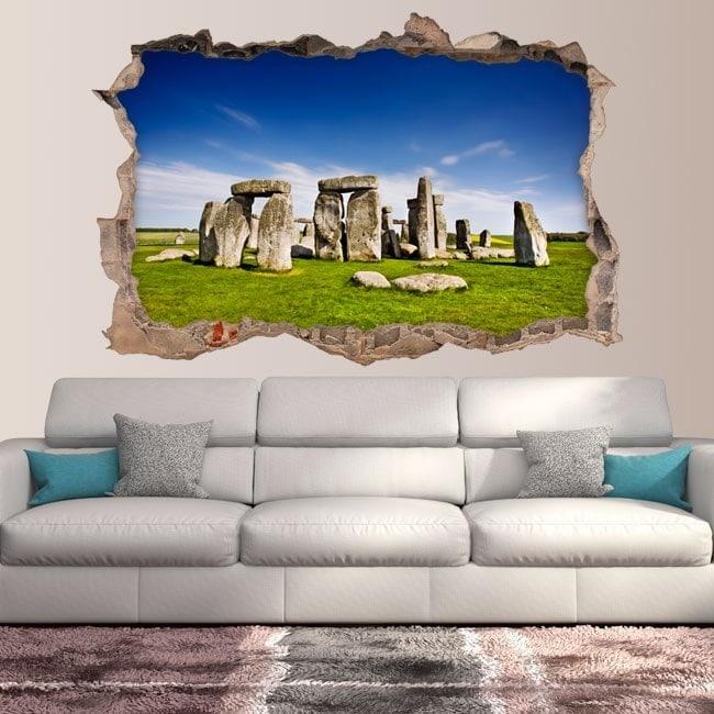 Vinyl 3D Stonehenge England