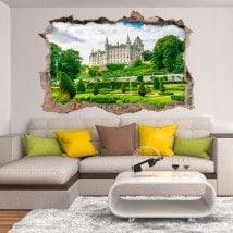 Vinyl 3D Dunrobin Castle Scotland
