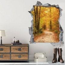 Vinyl 3D way in nature English 5787