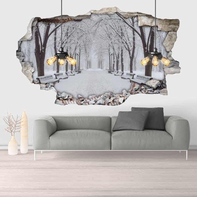 Vinyl 3D snow park
