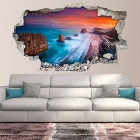 Vinyl 3D Sunset Cliffs
