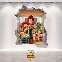 Vinyl child Toy Story 3D