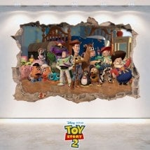 Vinyl children's 3D Toy Story 2