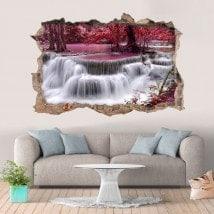 Vinyl 3D waterfalls Thailand