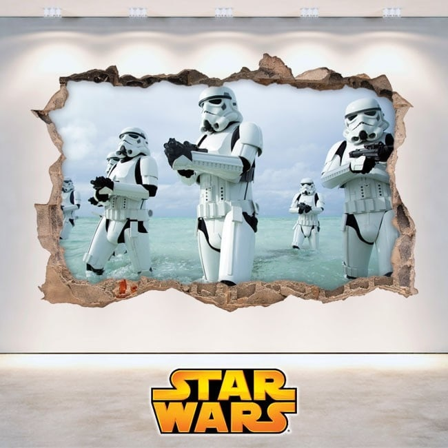 Star Wars wall stickers 3D English 5881