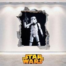 Vinyl Star Wars clone soldiers 3D