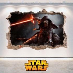 Star Wars stickers Kylo Ren 3D