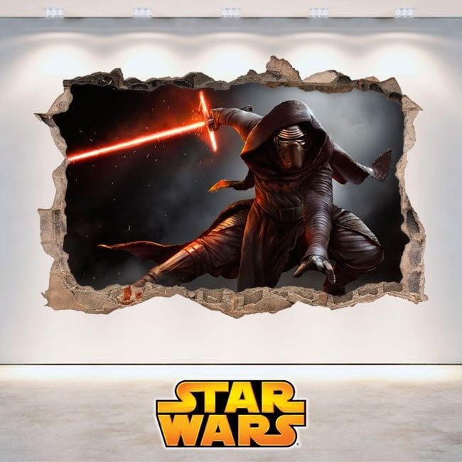 Star Wars stickers Kylo Ren 3D