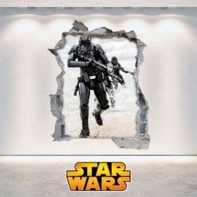 Star Wars wall stickers 3D