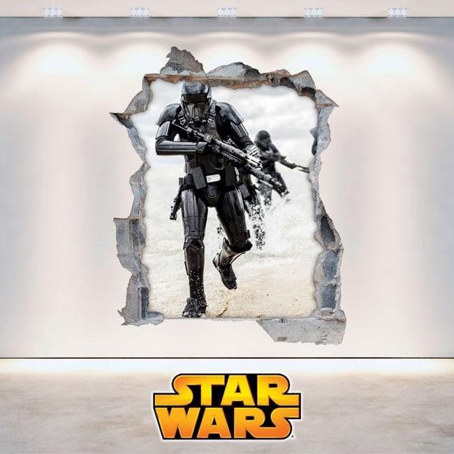 Star Wars wall stickers 3D English 5893