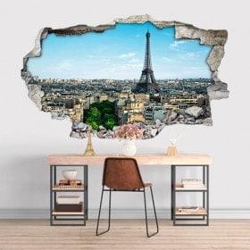 Eiffel Tower 3D vinyl