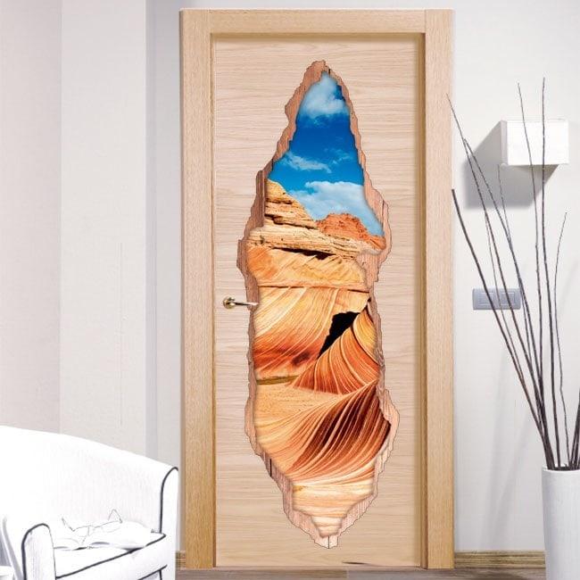 Vinyl for the wave of Arizona 3D doors