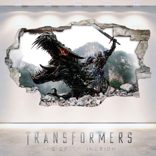 3D Transformers extinction-Era vinyl