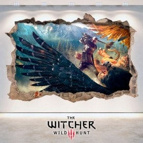 Decorative vinyl The Witcher 3 Wild Hunt