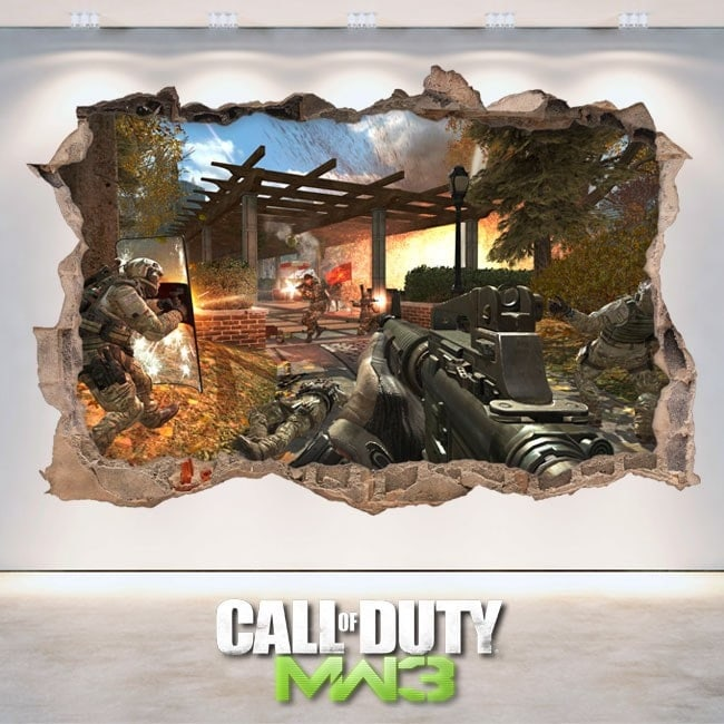 Vinyl and stickers 3D Call Of Duty Modern Warfare 3