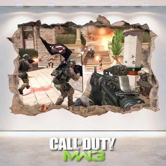 Stickers Game 3d Call Of Duty Modern Warfare 3