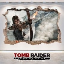 Vinyl video game 3D Lara Croft Tomb Raider Definitive Edition