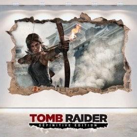 Vinyl video game 3D Lara Croft Tomb Raider Definitive Edition