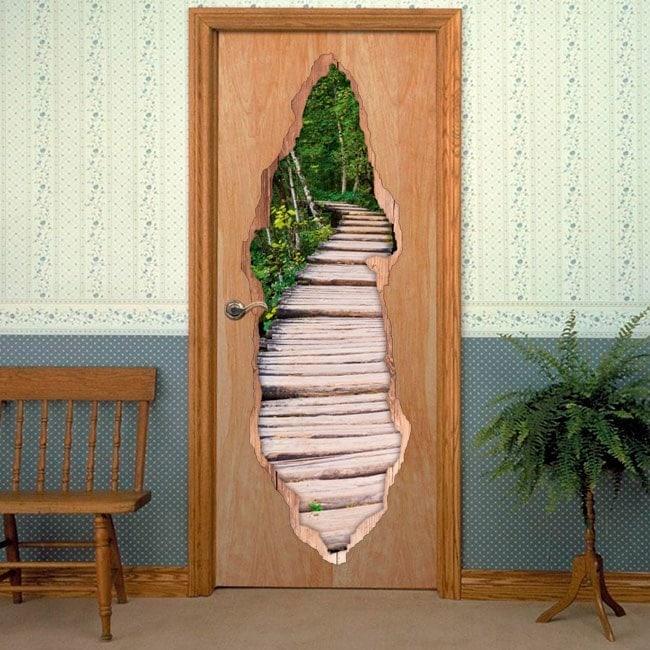 Door way in nature for vinyls