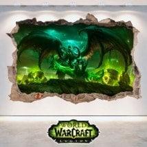 Vinyl 3D World Of Warcraft Legion