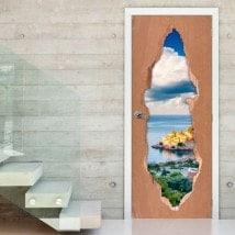 Vinyl doors Sveti Stefan Montenegro