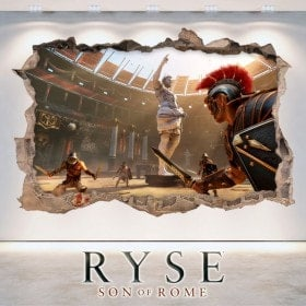 Vinyl and stickers 3D Ryse Son Of Rome