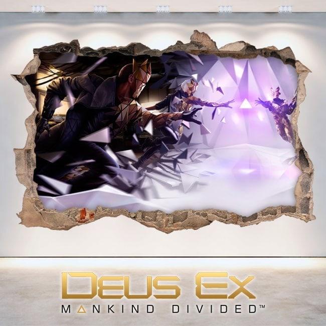 Decorative vinyl 3D Deus Ex Mankind Divided