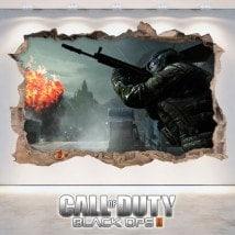 Call Of Duty Black Ops 3D decorative vinyl 2