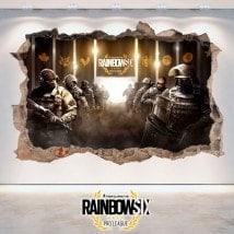 Vinyl 3D Tom Clancy's Rainbow Six Siege Pro League