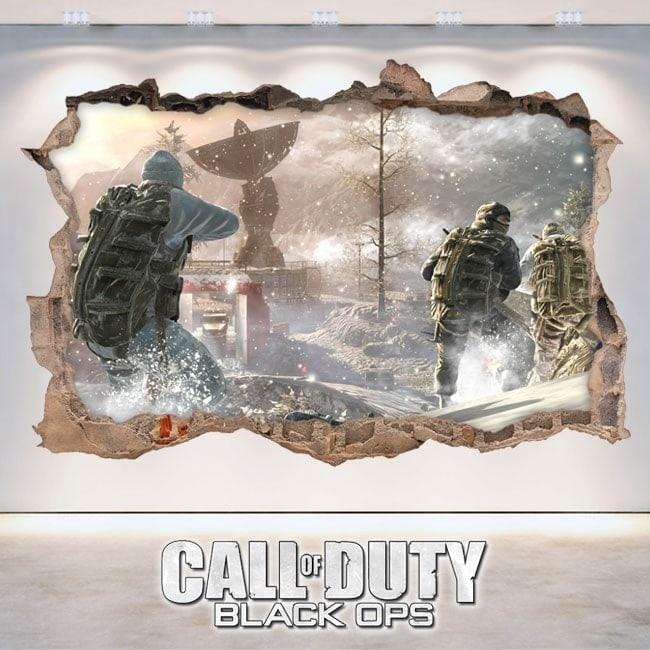 Call Of Duty Black Ops 3D decorative vinyl