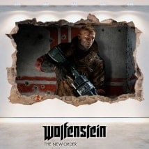 Wolfenstein The 3D decorative vinyl New Order