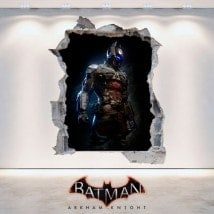 Decorative vinyl 3D Batman Arkham Knight