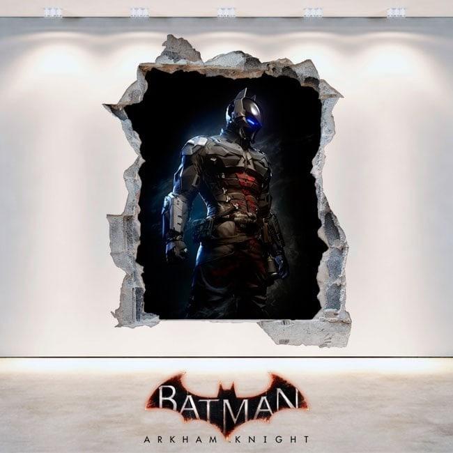 Decorative vinyl 3D Batman Arkham Knight