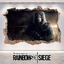 Vinyl 3D Tom Clancy's Rainbow Six Siege
